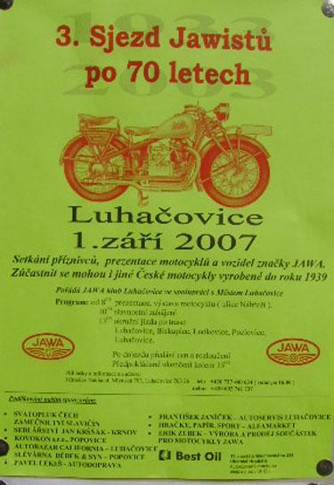 Když do Luhačovic, tak s Jawou!