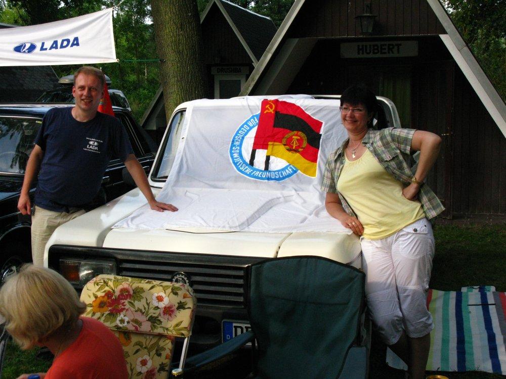 Für Deutsch-Sowjetische Freundschaft - Jan aus Dresden und Оксана из Владивостока