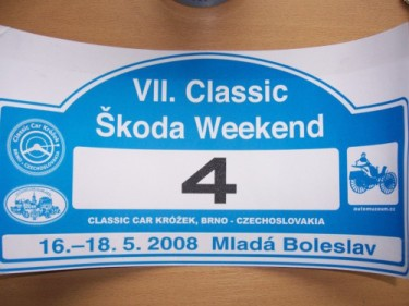 VII. Classic Škoda Weekend
