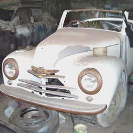 Škoda 1101 Tudor - renovace cabria na Sri Lance
