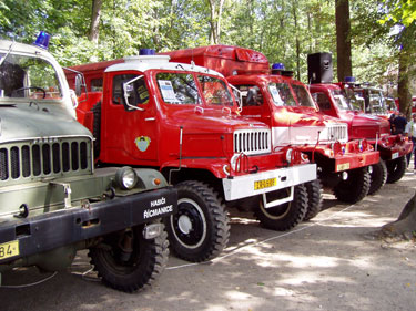 Pernštejn plný hasičů
