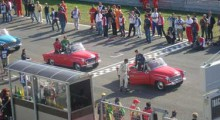 CCK na startu Formule A1
