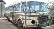 Škoda 706 RTO - renovace