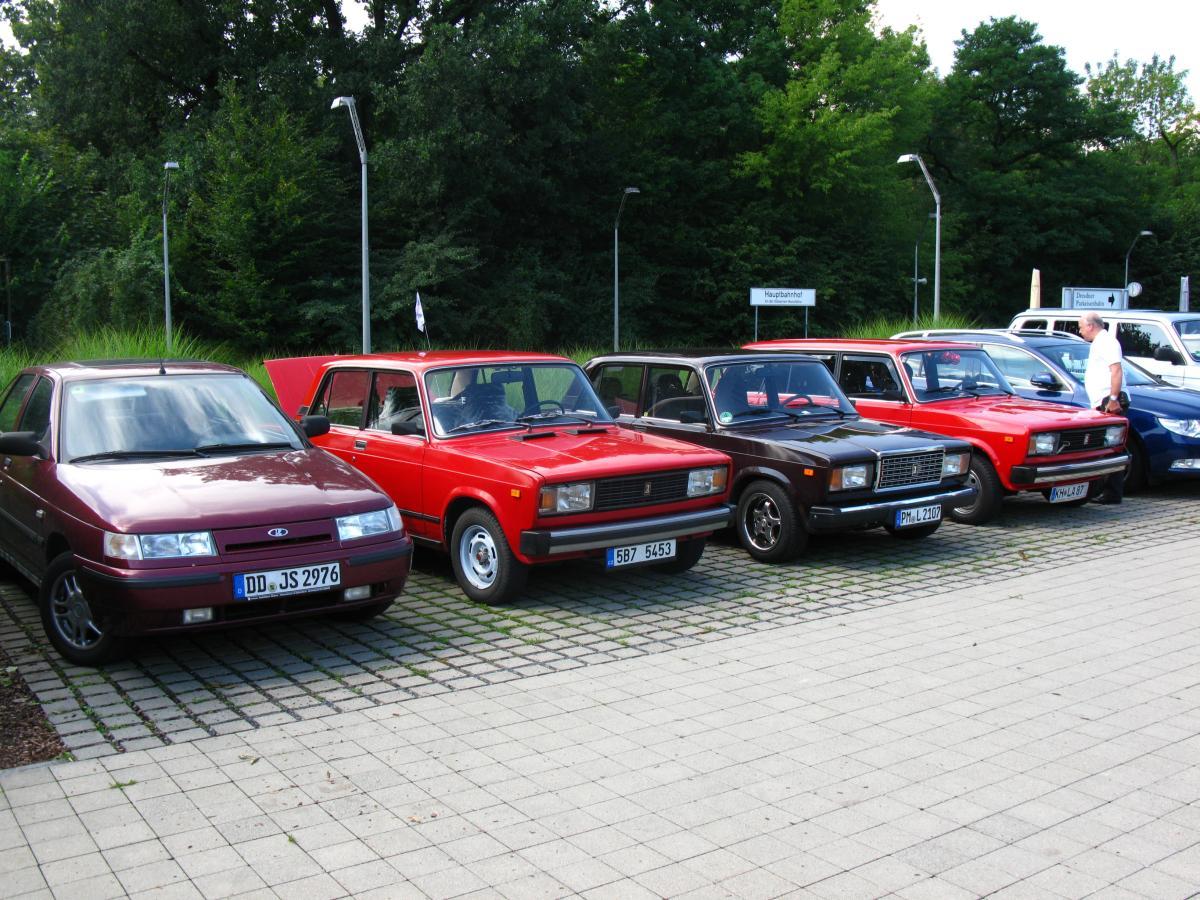 Lada Sommertreffen Dresden 2011