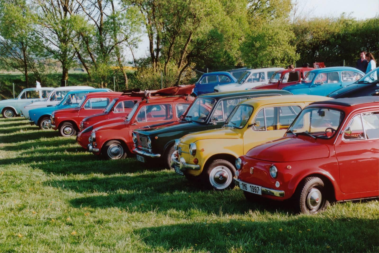 Mezinárodní setkání italských automobilů a veteránů 2011