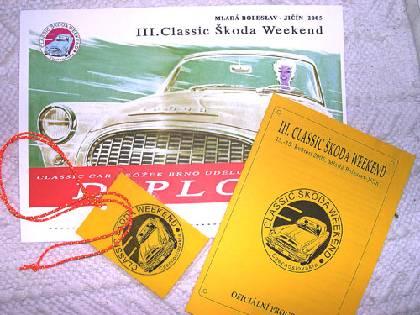 III. Classic Škoda Weekend